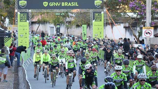 Largada do GFNY Brasil deste ano / Ivo Gonzalez
