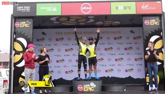 Cape Epic: Avancini e Fumic vencem a terceira etapa e assumem a liderança da competição