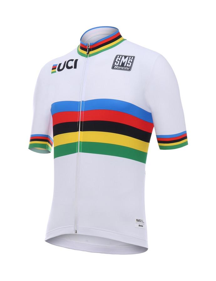 Campeão do Mundo UCI: conheça a quase centenária camisa arco-íris