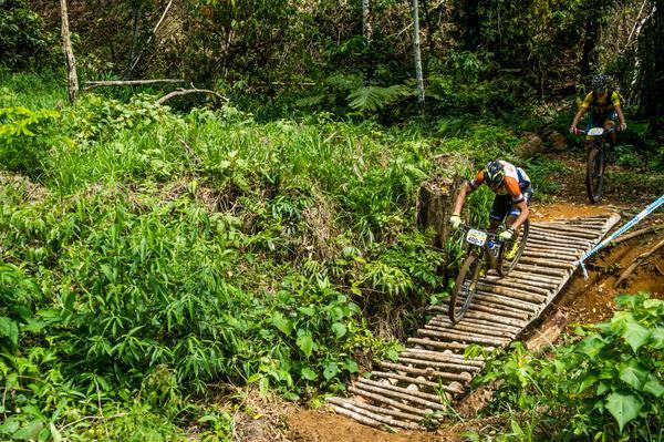 Bart Brentjens recupera a liderança na máster (Ney Evangelista / Brasil Ride)