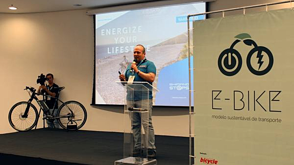Rogerio Tancredi - Workshop E-Bike  (Eduardo Iru / Shimano)