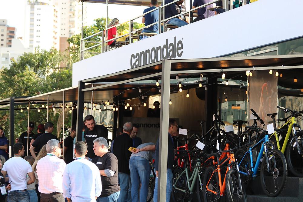 Stand da Cannondale / Márcio de Miranda - Planeta da Bike