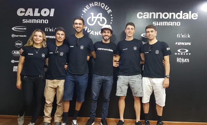 Lançamento das equipes Caloi Team e Cannondale Brasil Racing
