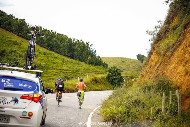 Atleta no segundo dia de pedal / Sandra Guedes