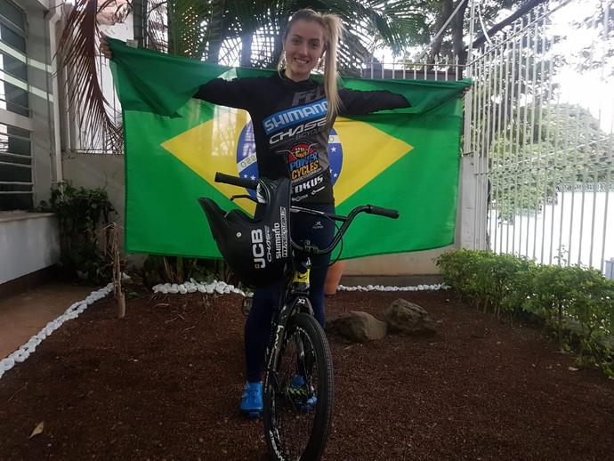 Priscilla Stevaux já está no Peru para disputa dos Jogos Pan-Americanos de Lima