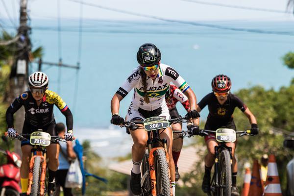 Letícia Cândido venceu o prólogo (Wladimir Togumi / Brasil Ride)