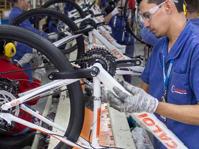 Indústria produz 72 mil bicicletas em agosto, mesmo impactado pela falta de insumos