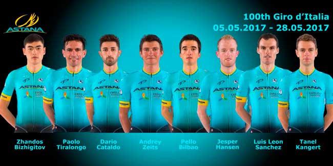 Giro de Itália: Astana não substituirá Scarponi e terá oito ciclistas inscritos na 100ª edição