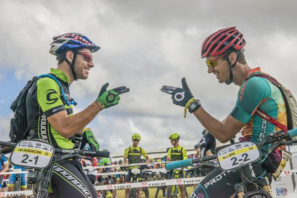 Henrique Avancini e Jiri Novak (Marina Magalhães / Brasil Ride)