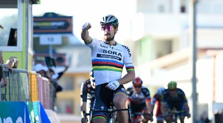Sagan comemora vitória / Divulgação