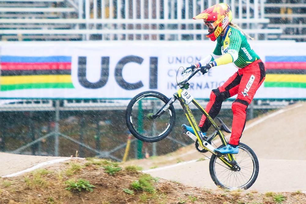 Priscilla em ação na Bélgica / Rodsnon Leopoldi - Sorocaba Esportes