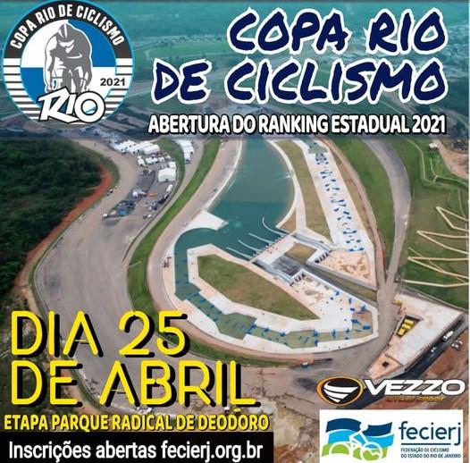 Ciclismo de Estrada vai invadir o Parque Radical de Deodoro, no final do mês