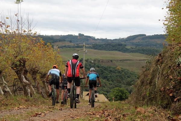 Prova tem distâncias de 30 a 90 km / Wine Bike - Divulgação)