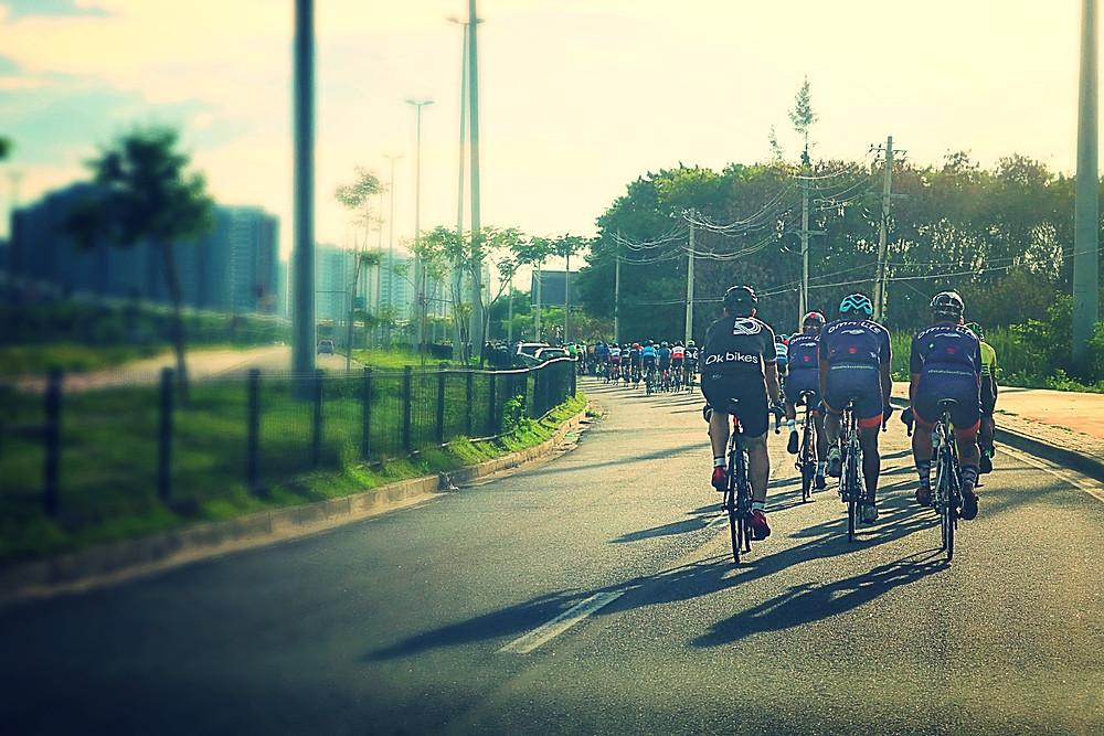 Ciclistas durante a Blitz / Márcio de Miranda - Planeta da Bike