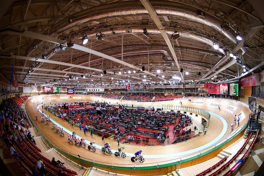 Velódromo de Minsk / Divulgação UCI