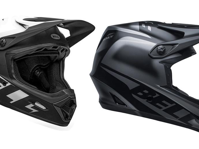 Do mountain bike extremo ao BMX: novos capacetes full face da Bell disponíveis no Brasil