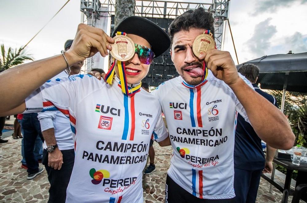 Raiza e Cocuzzi são os novos campeões Pan-Americanos / Maximiliano Blanco -CBC