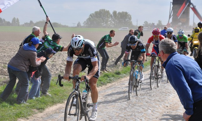 Boonen na Paris-Roubaix de 2014 | Divulgação