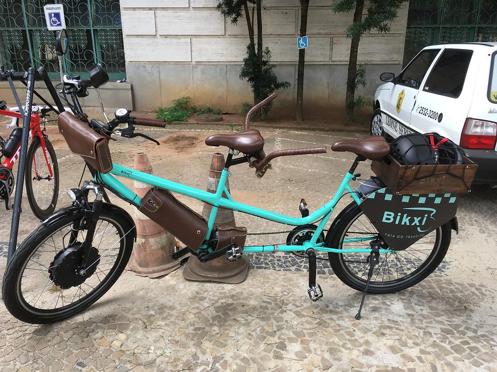 Bicicleta que será usada na pedalada inclusiva / Márcio de Miranda