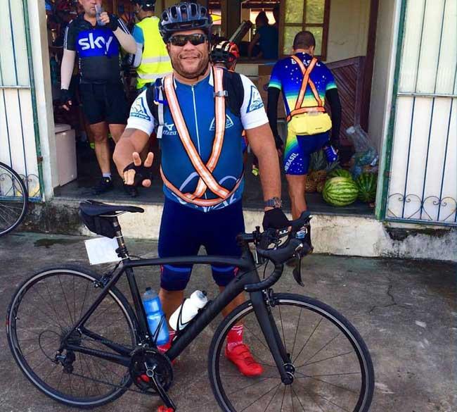 Eu no meu primeiro Desafio Audax 80km de Guapimirim / Márcio de Miranda