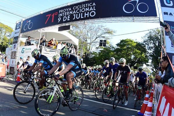 Prova Ciclística Internacional 9 de Julho  (Djalam Vassão/Gazeta Press)