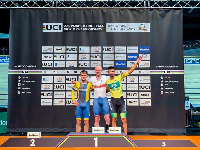 Lauro Chaman conquista o bronze no Mundial de Paraciclismo de Pista na Holanda