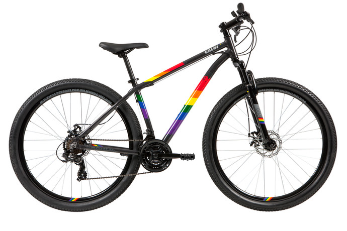 Caloi quebra barreiras e reafirma apoio à causa LGBTQI+ com a Rainbow