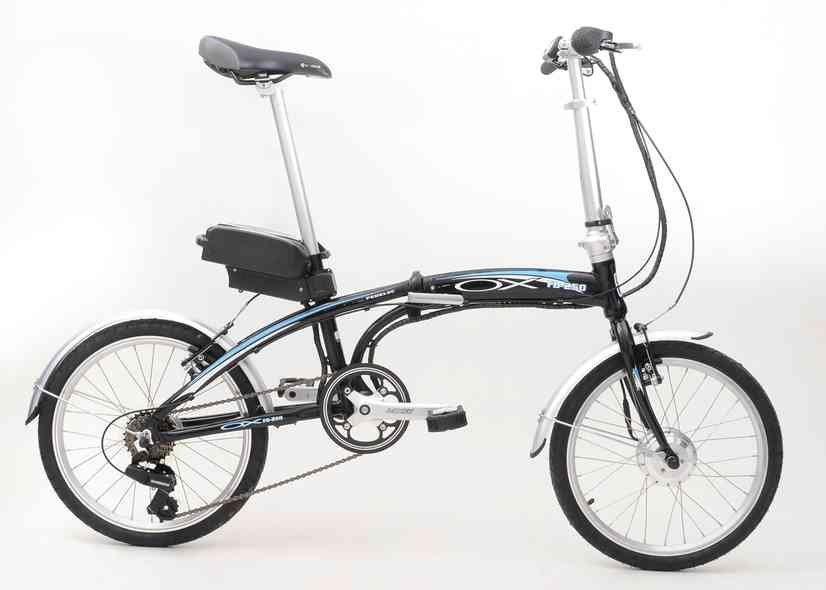 Bicicleta Elétrica e dobrável! da Ox fabricada em Manaus / Divulgação