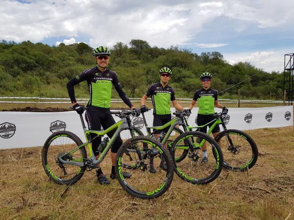 Trio da Cannondale Brasil Racing na Argentina