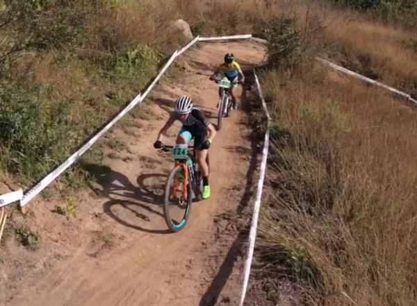 A disputa do Brasileiro de Mountain Bike aconteceu neste sábado em Mairiporã/SP  (Divulgação)