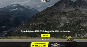 Nova data do Tour de France / Reprodução site oficial