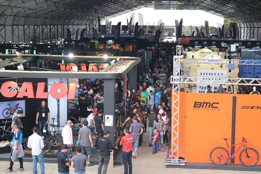 Área coberta do Shimano Fest deste ano / Márcio de Miranda - Planeta da Bike
