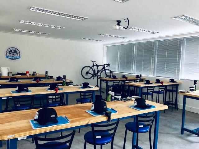 Sala de Treinamento Técnico Shimano / Divlgação