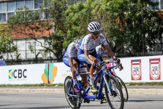 Atletas da Memorial Santos vencem Circuito Pan-Americano de Paraciclismo