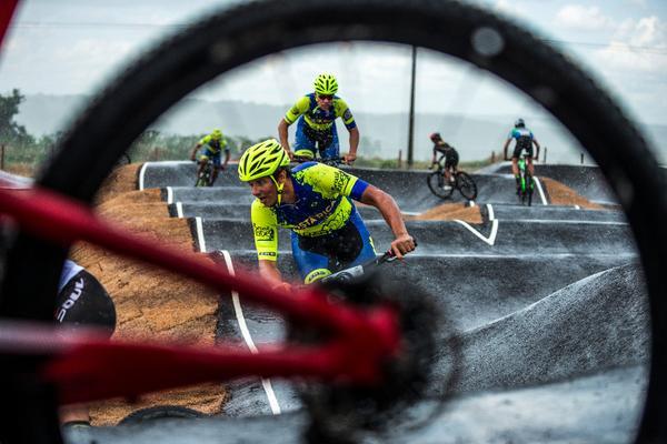 Ciclista Victor Renato, de Costa Rica (Alexandre Cappi / Brasil Ride)