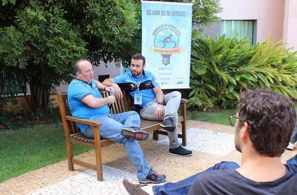 Rogerio Tancredi e Juliano Xavier (Divulgação / Shimano)