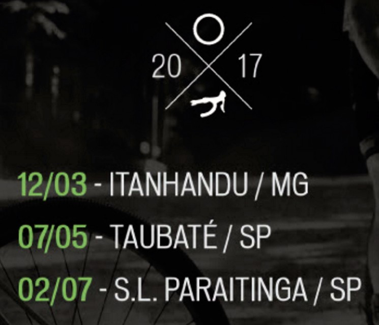 Calendário das etapas / Divulgação