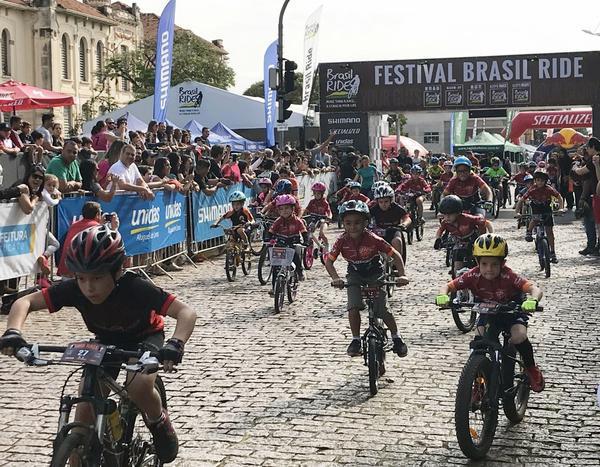 Largada da Bike Kids  (ZDL / Divulgação)