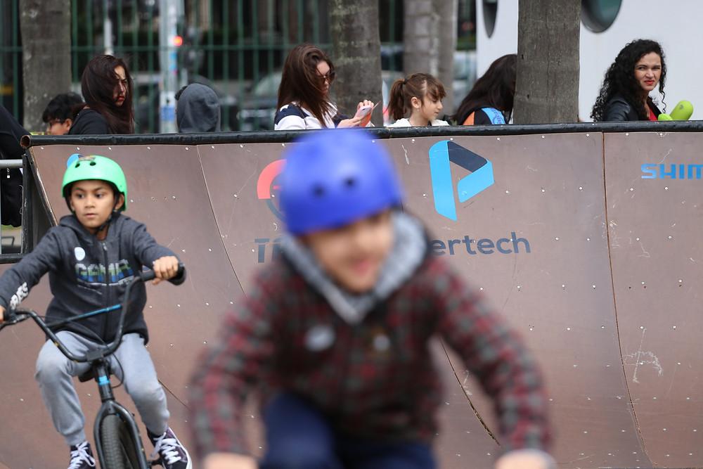 Criançada está pedalando cada vez mais cedo / Márcio de Miranda - Planeta da Bike