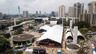 Vista aérea do Shimano Fest / Fernando Siqueira