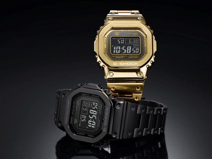 G-Shock lança relógio totalmente em aço com acabamento de luxo para momentos especiais