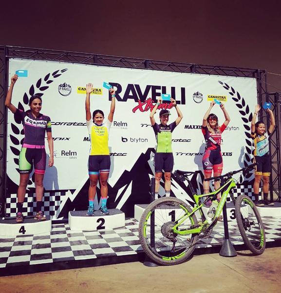 Viviane Favery vence a segunda etapa do GP Ravelli de Mountain Bike