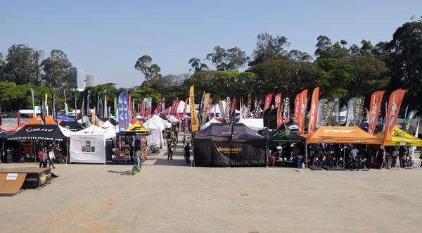 Área de exposição do Shimano Fest / Divulgação