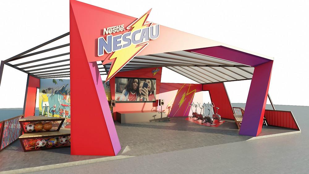Arena Nescau na Game XP / Divulgação