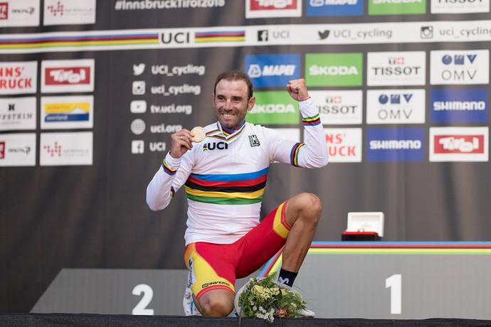 Alejandro Valverde completa 40 anos neste sábado e sonha com Jogos de Tóquio