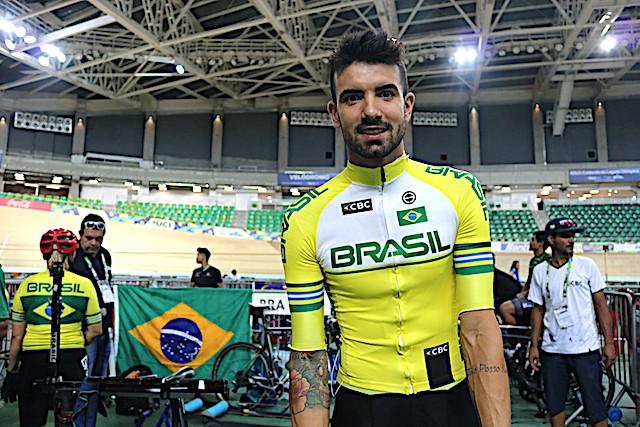 Lauro Chaman no Velódromo Olímpico do Rio / Márcio de Miranda - Planeta da Bike