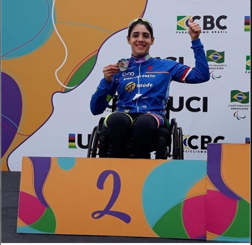 Mariana Garcia participa da 2ª Etapa da Copa Brasil de Paraciclismo