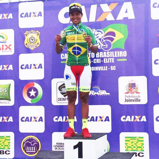 Clemilda é atual campeã de estrada / Divulgação