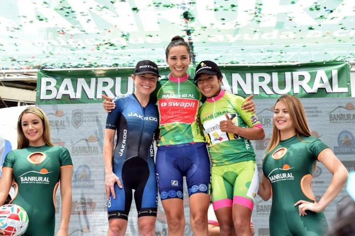 Flávia Oliveira é vice-campeã da Volta Ciclística Internacional da Guatemala