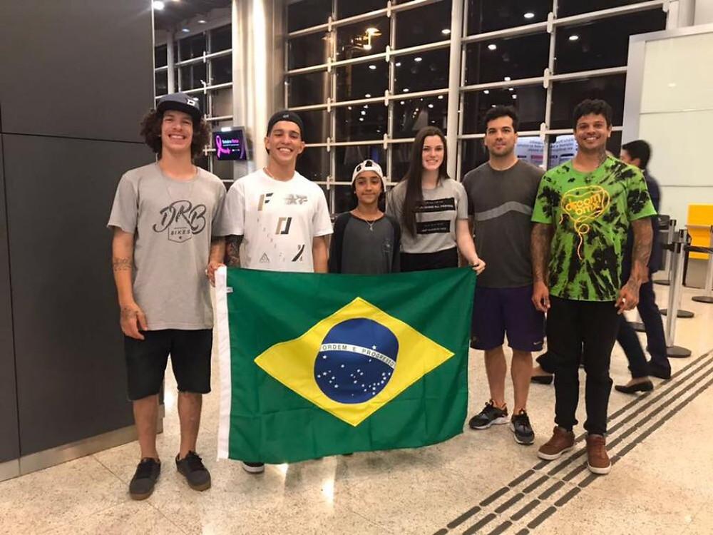 Seleção Brasileira de BMX Park / Divulgação CBC